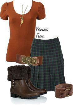 """""""Princess Fiona ~ The Warrior Leader"""" by plasticlizard022 ❤ liked on Polyvore"""