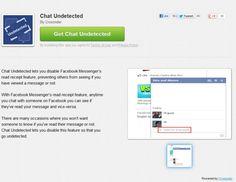 Facebookチャットで既読であることを相手に伝えないようにするアドオン 『Chat Undetected 』 | A!@attrip