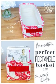 Small Sewing Projects, Sewing Hacks, Sewing Tutorials, Sewing Crafts, Sewing Diy, Fabric Sewing, Sewing Blogs, Sewing Patterns Free, Free Sewing