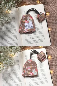 Quirky tea bag bookmarks, perfect small bookish tea gifts. #tealovers #booklovers #bookmarks #handmade #teabags Coffee Coasters, Tea Coaster, Handmade Shop, Handmade Gifts, Tea Party Favors, Fabric Coasters, Free Motion Embroidery, Tea Gifts, Book Lovers Gifts