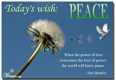 Saturday-Peace-7/7/12    www.wishadoo.org