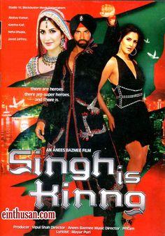 Singh Is King Hindi Movie Online - Akshay Kumar, Katrina Kaif, Ranvir Shorey and Neha Dhupia. Directed by Anees Bazmee. Music by Pritam. 2008 [U] w.eng.subs.