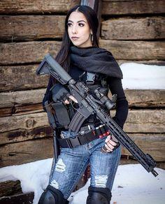 Firearms, Shotguns, Shooting Gear, Military Girl, N Girls, Airsoft Guns, Sexy, Warrior Women, Photoshoot