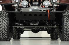 2014 Jeep Wrangler Unlimited in Maserati Bordeaux Kevlar Exterior: Custom Lift Kit