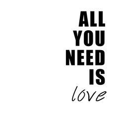 Postcards from Wonderland | Un DIY para decorar tus paredes: all you need is love. ¡Descárgalo gratis! | http://www.postcardsfromwonderland.com