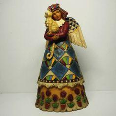 Jim Shore Heartwood Creek Angel with Cat Figure x'mas Gift   eBay