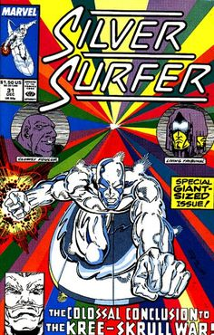 Silver Surfer Vol. 3 # 31 by Ron Lim