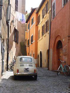 Fiat 500 Rome