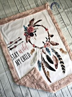 Baby nursery ideas princess changing pad 59 new ideas Easy Baby Blanket, Minky Baby Blanket, Weighted Blanket, Baby On The Way, Boho Baby, Girl Nursery, Nursery Ideas, Nursery Themes, Nursery Decor