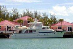Grand Alaskan 64 Motor Yacht Bali Motu for sale from Curtis Stokes and Assoc. Great Loop veteran.