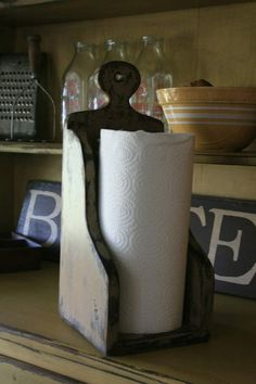 Paper Towel Holder, would be fairly simple project for daddy-o ? :)