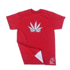 Image of RED HIGH TECH Rolla Wear T-shirt