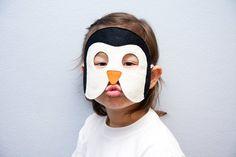 Penguin Kids Felt  Animal Mask Children Carnival by BHBKidstyle, €12.00