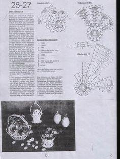 Album Archive - Jön a húsvét Thread Crochet, Crochet Doilies, Crochet Flowers, Diy Crochet Basket, A Hook, Basket Decoration, Easter Eggs, Crochet Patterns, Album