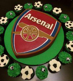 Image detail for Cake Arsenal Soccer Ball Birthday Cakes