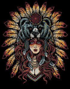Resultado de imagen de color tattoo bear