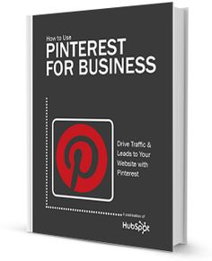 Hubspot Ebook Pinterest for Business