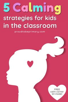 5 effective strategies to help elementary teachers create a calm, productive classroom. Find ideas on creating a calm corner in the classroom and DIY ideas for making calm down kits for students to use to self-regulate and manage their emotions. Suggestions on which tools to use and how to teach them to kids are included, as well as mindfulness (breathing, music, yoga) and children's book suggestions. Grab the free printable calm corner posters and journal to help kids develop coping skills! Social Emotional Development, Social Emotional Learning, Child Development, Calm Classroom, Classroom Ideas, Classroom Signs, Future Classroom, Classroom Community, Special Education Classroom