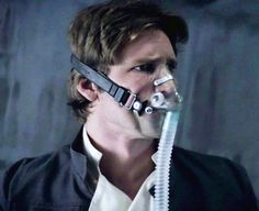 Han Solo - I am going to pretend this is what I look like in my CPAP machine