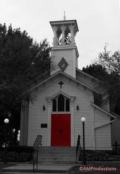Beautiful Old Small Town Church