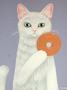 Cary Chun Lee   Donut Cat