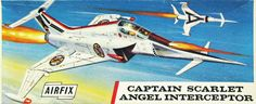 Airfix - Angel Interceptor - from TV show Captain Scarlet and the Mysterons