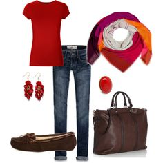 Red, created by jmacsmith.polyvore.com