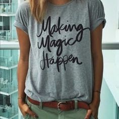 edb2e3887 Haola Women's Summer Street Printed Tops Funny Juniors T Shirt Short Sleeve  Tees XL: Haola Women's Summer Fashion Words Printed Tops Funny t Shirt  Street ...