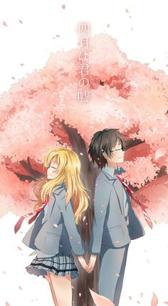 Shigatsu wa Kimi no Uso * you guys know that i really love this couple * Anime Chibi, Manga Anime, Film Anime, Fanarts Anime, Kawaii Anime, Anime Characters, Anime Art, Me Me Me Anime, Anime Love