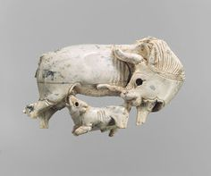 bensozia: Ivory Cow and Calf from Nimrud, Assyria Ancient Near East, Ancient Art, Cleveland Art, Ancient Mesopotamia, Tree Patterns, African Elephant, Egyptian Art, Magazine Art, Metropolitan Museum