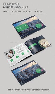 Corporate Business Brochure Template. Download: http://graphicriver.net/item/corporate-business-brochure/11001581?ref=ksioks