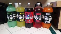 Kiss Soda Labels