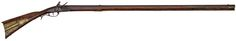 Early Raised Carved Kentucky Flintlock Rifle by <i>H. Mauger</i> with Engraved Horn (4/29 - 4/30/2015 - Firearms and Militaria: Live Salesroom Auction )