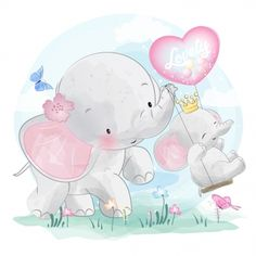 Cute Elephant Mommy And Baby, Watercolor, Birthday, Baby PNG and Vector with Tra… – Gerry Anton - Baby Animals Cute Baby Elephant, Elephant Baby Showers, Colorful Drawings, Cute Drawings, Bebe Vector, Adobe Illustrator, Scrapbooking Image, Elephant Background, Baby Animals