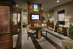 Sales office design ideas Industrial 1600 At Artesia Square By Mbk Homes Sales Gallery Interior Sales Office Southern California Pinterest 21 Best Sales Office Design Images Design Offices Office Designs