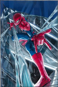 AMAZING SPIDER-MAN: RENEW YOUR VOWS #4 by Yusuke Murata.