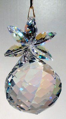Aurora Borealis Pineapple Hanging Decoration Ornament Crystal Decor Jewelry Crystals