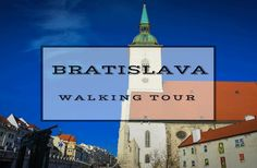 If you are thinking about visiting Slovakia, head on over to the capital city and take the awesome free Bratislava walking tour!