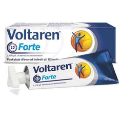 Voltaren Emulgel Forte 2% Gel Back Pain Extra Strength Relieve Cream 4X100gr #Voltaren