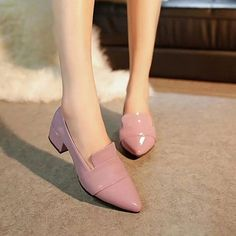 Cheap brand heels, Buy Quality heels brand directly from China mid heels Suppliers: High Quality Women oxford shoes Patent Leather Brogue Loafers Brand Slip-on Mid Heels Office Block Heel Creeper Pointy Toe Shoes Oxford Shoes Outfit, Women Oxford Shoes, Formal Shoes, Casual Shoes, Patent Shoes, Flat Shoes, Women's Shoes, Dress Shoes, Only Shoes