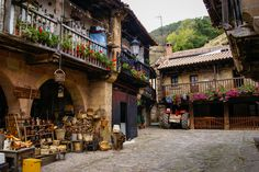 Bárcena Mayor is a village nestled in the mountains of Cantabria, Spain in the municipality of Los Tojos Street Photo, Spain Travel, Capital City, Vacation Destinations, Places To Travel, Places Ive Been, World, Travel Ideas, Wanderlust