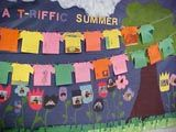 I love this back to school summer writing activity and bulletin board idea. Each student also makes a flower and you embellish with their photo! Great first week activity. Would work for an end of the year board also. Summer Bulletin Boards, Bulletin Board Design, Teacher Bulletin Boards, Back To School Bulletin Boards, Preschool Curriculum, Teaching Kindergarten, Preschool Activities, Preschool Bulletin, Teaching Ideas
