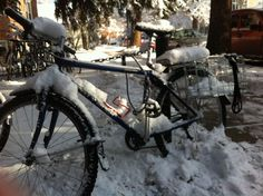 Tips for cycling in winter