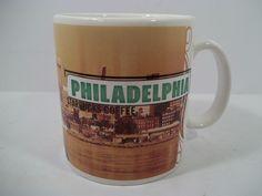 STARBUCKS PHILADELPHIA LIBERTY BELL COLLAGE SERIES CITY MUG 20oz 1999 #STARBUCKSCOFFEECOMPANY