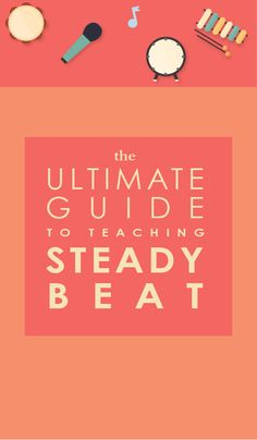Looking for the best ways to teach your students steady beat? Click through for a FREE lesson plan, plus sheet music and visuals!