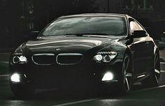 BMW E63 6 series black