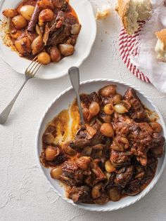 Ελληνική κουζίνα Archives - Page 15 of 137 - www. Wild Boar Recipes, Pork Recipes, Cooking Recipes, Exotic Food, Greek Recipes, Stew, Delish, Good Food, Food Porn