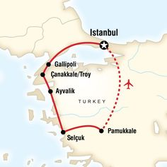 8 day itinerary