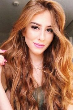 Best Hairstyles & Haircuts for Women in 2017 / 2018 : Vibrant Copper Hair Color Fall hair colors ideas for br Fall Hair Color For Brunettes, Fall Hair Colors, Cool Hair Color, Hair Color Auburn, Hair Color Highlights, Hair Color Balayage, Copper Highlights, Ombre Hair, Auburn Balayage