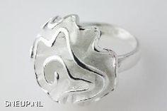 Sneup Eyecatcher Zilveren Ringen - #Sneup
